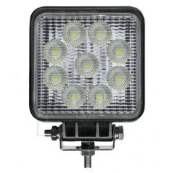 LED Arbeitsscheinwerfer eckig, 12/24V, 2000 Lumen